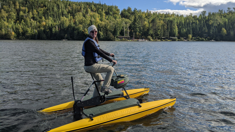 HydroBikes and Outdoor Fun